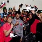 Meek Mill Partners with Reebok to Donate Shoes to Philly High School