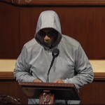Former Black Panther Escorted off House Floor for Wearing Hoodie