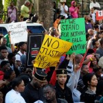 Clark Atlanta, Spelman and Morehouse Students Rally for Trayvon Martin