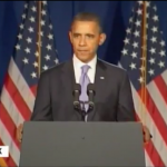 Woman Heckles Obama on Iran