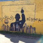 President Barrack Obama Mural Vandalized with Racial Slur at Ohio State University