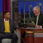 Will Smith Tells David Letterman about 'Awkward Kiss' in Moscow [Video]