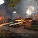 Louisiana Tech Fraternity House Fire Caused by Fire Place