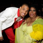 Aretha Franklins Says Chris Brown is 'Troubled'