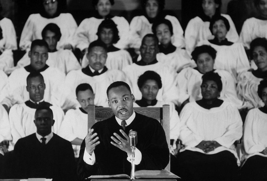 why was martin luther king disappointed in the white church Martin luther king, jr was a black clergyman, dedicated to end segregation why sit ins, marches and so forth' nonviolent direct action seeks to create such a crisis and foster such a one reason he was writing to his fellow clergymen was because king was disappointed in the white church.