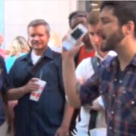 LGBT Chik-fil-A Activists Taunt Homeless, Christian Man and Debate Bible