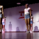 Clark Atlanta Alpha Kappa Alpha Flips Hair Back and Forth in Step Show