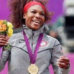 American Flag Falls During Serena Williams Gold Medal Ceremony