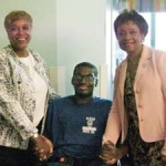 Alpha Kappa Alpha Awards $10,000 to Hero Injured in Hit-and-Run Accident