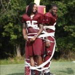 Robert Griffin III and Andrew Luck Hazed During Training Camp