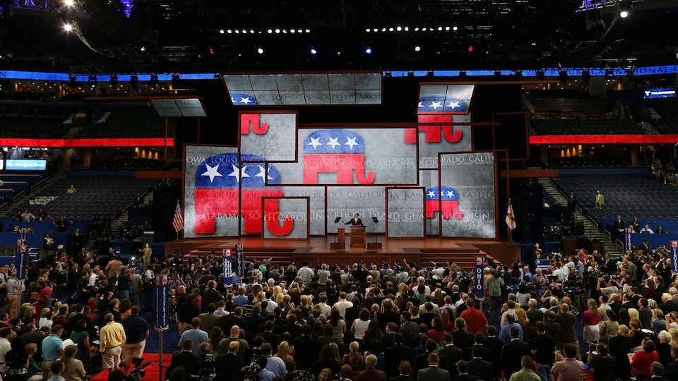 2012 Republican National Convention Delayed By Tropical Storm Isaac