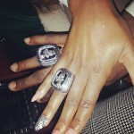 Was She With Him Shooting In The Gym? LeBron James and Fiance Savannah Brinson Get Matching NBA Championship Rings