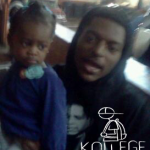 Chicago Rapper CashOut Takes Photo with Chief Keef's Daughter Kay Kay