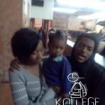 Chicago Rapper CashOut Takes Photo With Chief Keef's Baby's Mom and Daughter Kay Kay