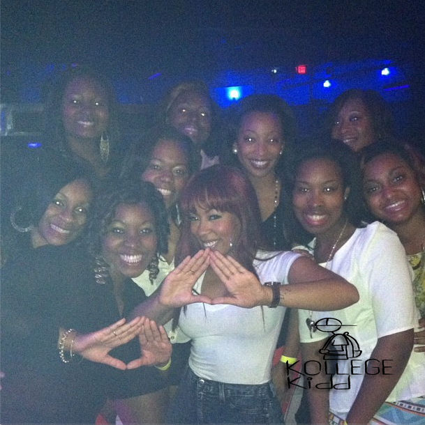 R&B Singer K. Michelle Comes From Family Of Delta Sigma