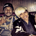 Meek Mill Takes Photo With Cassidy's Mom