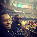 Two Omega Psi Members Record Themselves Sneaking Into Super Bowl