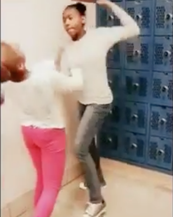 Teen Girl Beats Up Bully Jaide in Locker Room | Welcome To