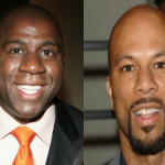 NBA Legend Earvin 'Magic' Johnson Praises Conscious Rapper Common For Philanthropy Work In Chicago
