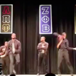Alpha Phi Alpha Members Pay Tribute To 'Real Harlem Shake' During Step Show