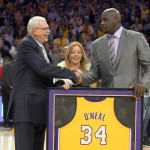 Lil' Wayne Salutes Shaquille O'Neal As Los Angeles Lakers Retire No. 34 Jersey