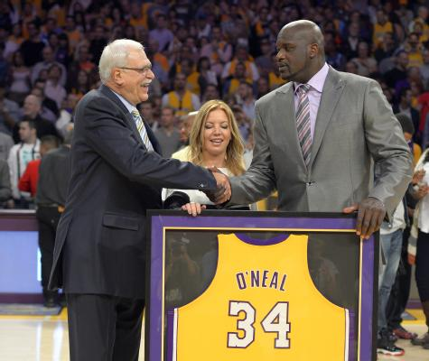 Lil' Wayne Salutes Shaquille O'Neal As Los Angeles Lakers Retire ...