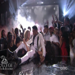 Pop Singer Miguel Jumps and Lands On Woman During Billboard Awards Performance
