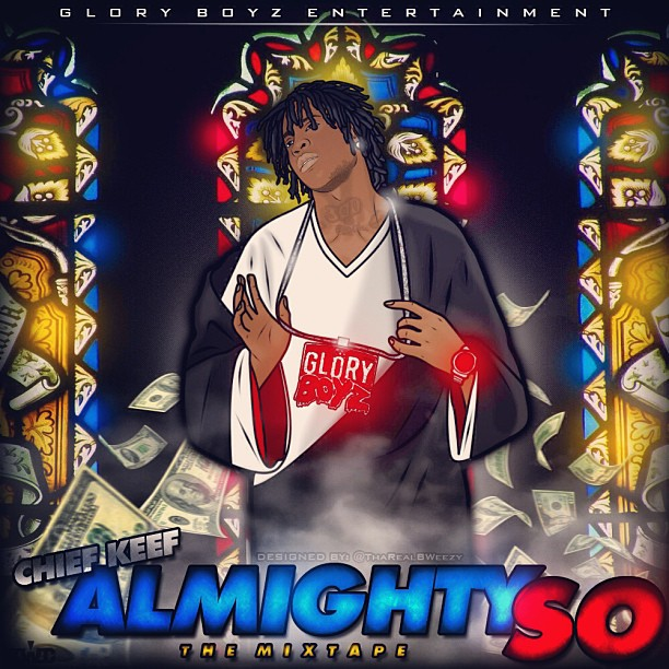 Chief Keef Reveals Blasphemous Artwork For Almighty So