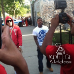 Coke Boys Lil' Durk & French Montana Shoot 'L's Anthem' Remix in Chicago