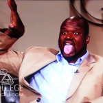 Shaq Hops and Throws Up Omega Psi Phi Hooks on 'Open Court'