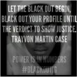 Social Media Blacking Out AVIs In Support Of Trayvon Martin