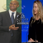 Steve Jobs' Widow, Laurene Powell Jobs, Rumored To Be Dating Kappa Alpha Psi Member Adrian Fenty