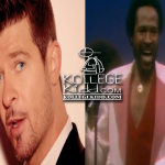 Robin Thicke Admits To 'Blurred Lines' & Marvin Gaye's 'Got To Give It Up' Being The 'Same Song'