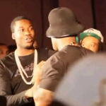 50 Cent Pushes Former G-Unit Member, Trav, At MixShow Live 2013 In Atlanta