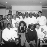 Whitney Houston Throws Up Omega Psi Phi Hooks With Que Dogs