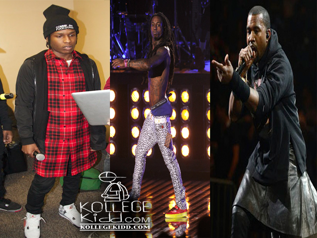 Lil' Wayne Disses Kanye West & ASAP Rocky In 'Started From The Bottom' Freestyle On 'Dedication 5' Mixtape | Welcome To KollegeKidd.com