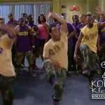 Rickey Smiley & Lil JJ Step With Omega Psi Phi On The Rickey Smiley Show