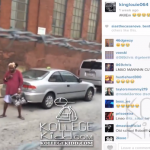 King Louie Records Homeless Woman Getting Down!