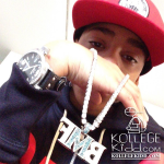 Lil Mouse Shows Off New Diamond Chain