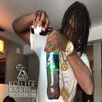Chief Keef Sips Lean In Rehab?