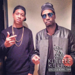 Lil Bibby In The Studio With Juicy J