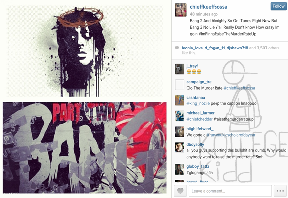 Chief Keef Releases 'Bang 3' Tracklist | Welcome To ...