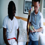 Chief Keef Buys Gold, Diamond-Encrusted 'Glo Gang' Charm From Jeweler Johnny Dang