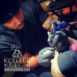 King Louie Gets 'Tony' Tatted On Pinky Finger