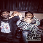 RondoNumbaNine In The Studio With Meek Mill In New York City