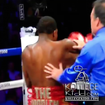 Adrien Broner & Marcos Maidana Dry Hump Each Other During Fight