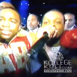 Lil Durk Walks Adrien Broner To Ringside, Performs 'Dis Ain't What U Want'