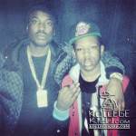 RondoNumbaNine Coolin On Stage At Meek Mill Concert