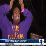 Omega Psi Phi & Kappa Alpha Psi Fight At Christmas Charity Event
