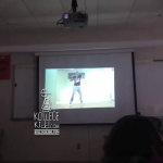 Students Learn 'Dlow Shuffle' In Class